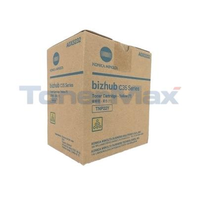 KONICA MINOLTA BIZHUB C35 TONER YELLOW
